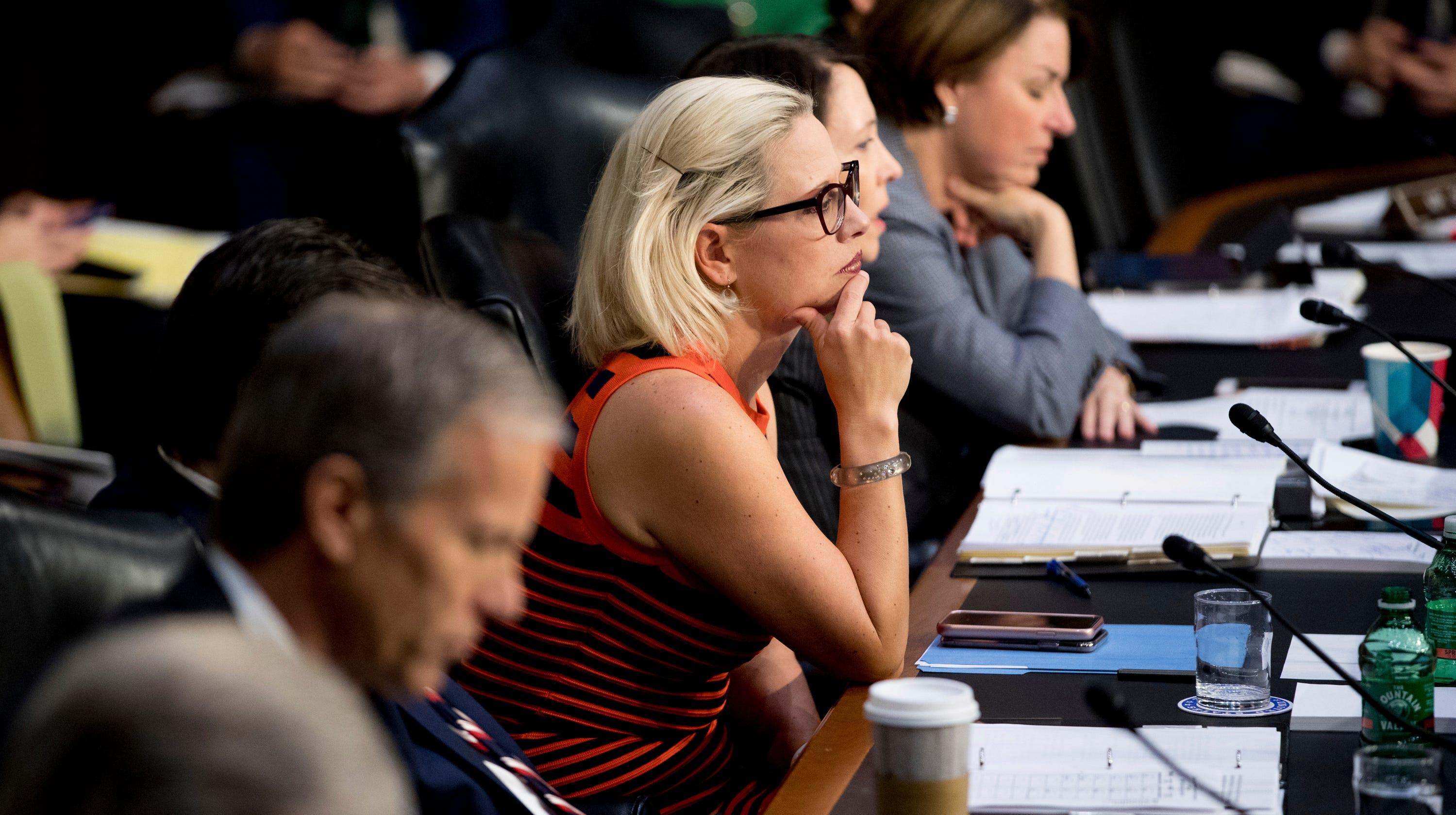 Sen. Kyrsten Sinema wants to cut bureaucratic red tape, tackles regulatory reform