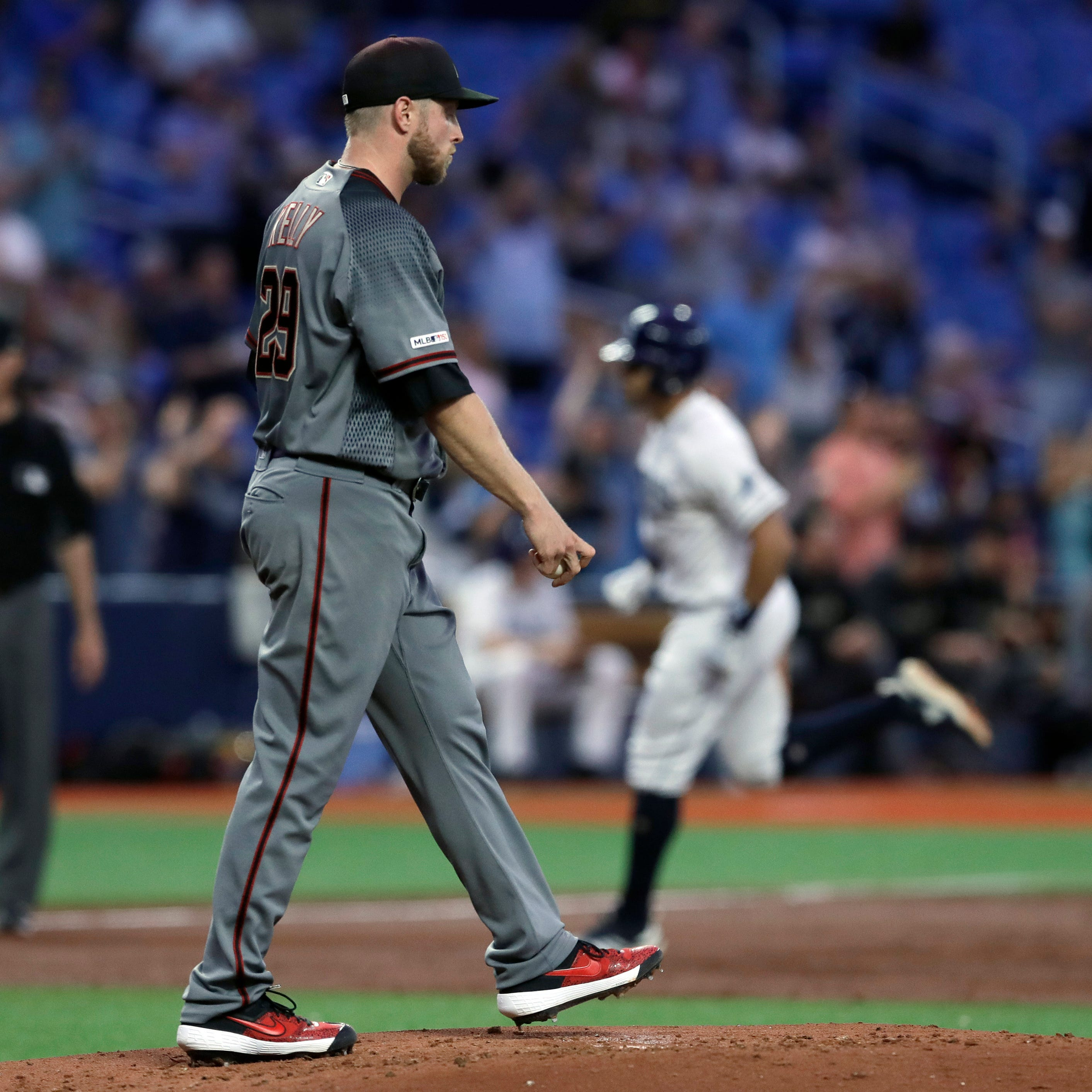 Merrill Kelly: Struggles in Diamondbacks' loss had nothing to do with facing Rays