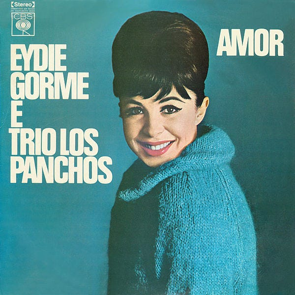 "A Brazilian pressing of the classic 1964 album ""Amor"" by Eydie Gormé and Trio Los Panchos."