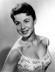 Eydie Gormé is seen in a 1956 file photo.