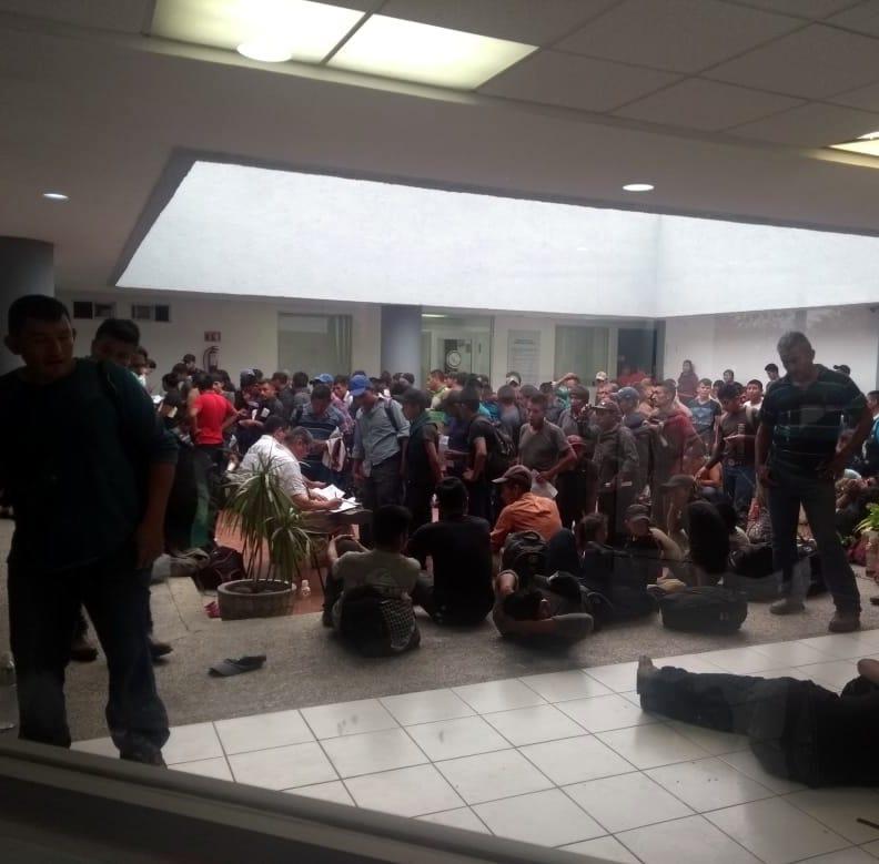 México detiene a 289 migrantes centroamericanos