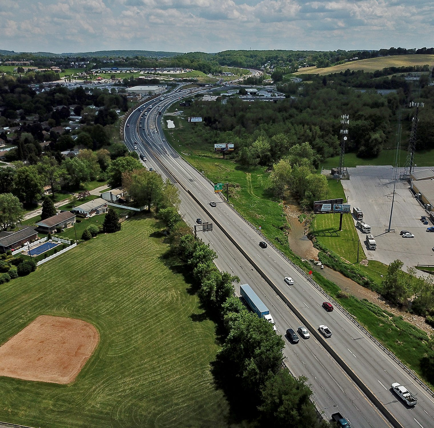 I-83 widening means eminent domain for Springettsbury neighborhood