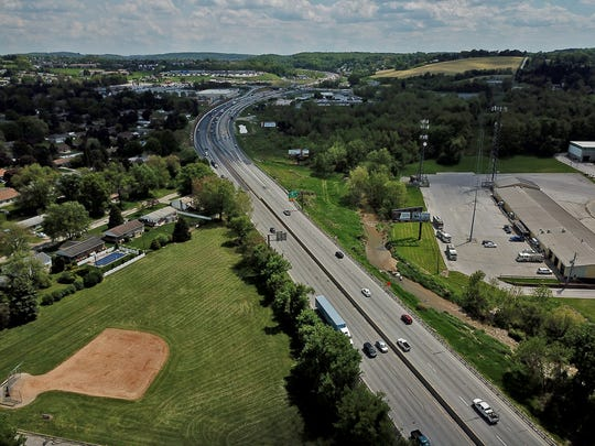 A proposed widening project for Interstate 83 may end up consuming part of Fayfield Park in Springettsbury Township. Plans include widening a five mile stretch from four lanes to eight. Tuesday, May 7, 2019.John A. Pavoncello photo