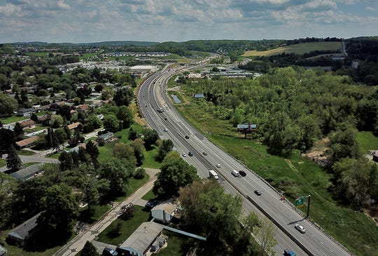 A proposed widening project for Interstate 83 may end up consuming part of Fayfield Park in Springettsbury Township. Plans include widening a five mile stretch from four lanes to eight. Tuesday, May 7, 2019.