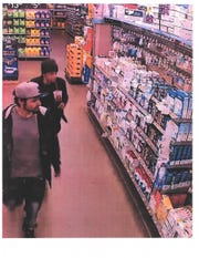 Fairview Township Police say these two are suspects in a rash of vehicle break-ins.
