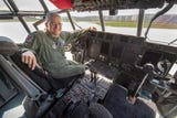 Take a tour of a Lockheed WC-130J, one of 12 airplanes in the world allowed to fly into hurricanes. The plane is used by the Air Force Reserve