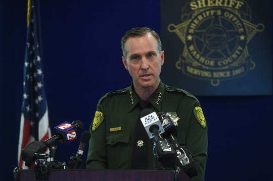 Washoe County Sheriff Darin Balaam vows to get justice for two Damonte seniors who died after taking drugs laced with fentanyl.