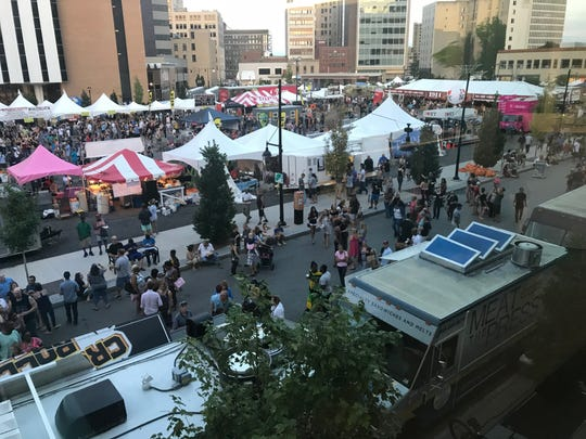 ROC the Taste took place on Parcel 5 in downtown Rochester in 2018.