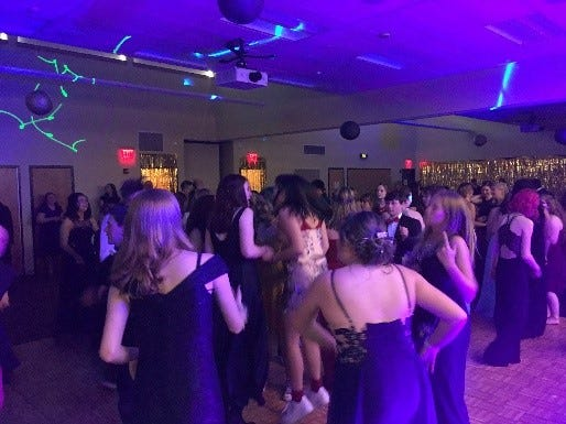 Oregon Connections Academy dance during the online public school's annual prom held at the Chemeketa Community College Eola Viticulture Center May 4th, 2019.
