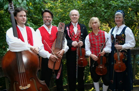 Norwegian string group Fossegrimen will perform at the Sons of Norway Thor Lodge 2-042 Syttende Mai celebration May 11.