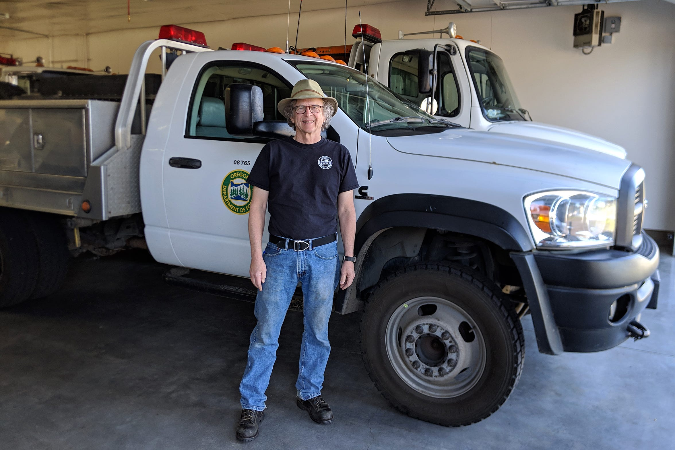 Tom Soward, a wildland fire crew manager, started his career with the Oregon Department of Forestry as a firefighter in 1970. He's starting his 50th fire season this year.