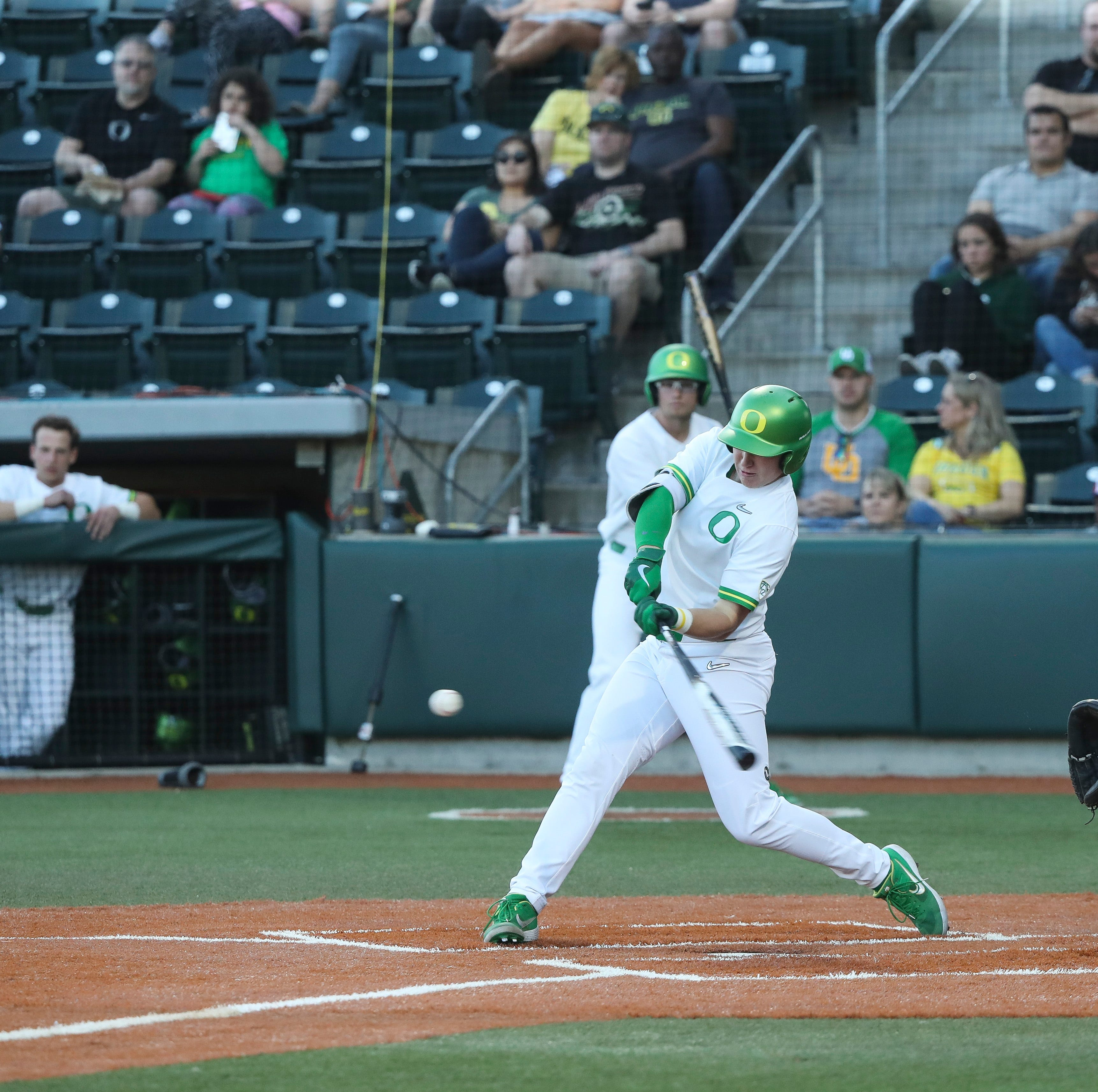 Oregon Ducks: Pair of South Salem graduates making impact on baseball diamond