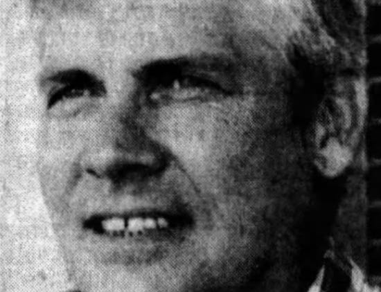"""Somerset County Sheriff Robert """"Bobby"""" Jones' headshot published in The Daily Times during his first run for sheriff in 1986."""