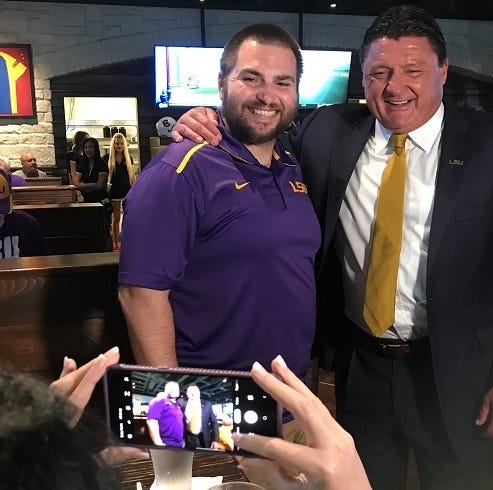 LSU's Orgeron says Tigers decided to recruit nationally