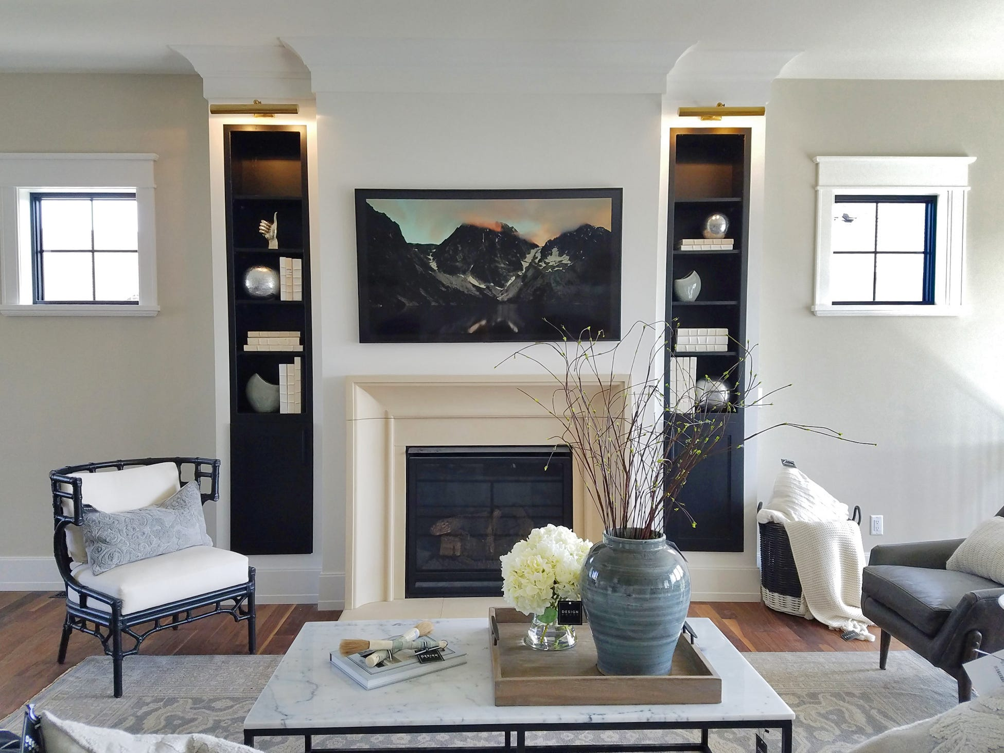 A photo of the home at 7504 S. Grand Arbor Court, by Amdahl Construction Co, one of the houses featured in the Spring 2019 Parade of Homes.