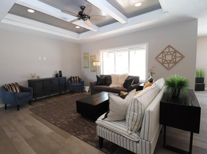 A photo of the home at 2109 S Meadowview Ave., by A Plus Construction, one of the houses featured in the Spring 2019 Parade of Homes.
