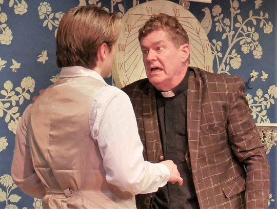 Baylor Barnes as Frank Gardner and Michael Lee as Reverend Samuel Gardner.
