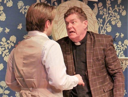 Baylor Barnes as Frank Gardner and Michael Lee as Reverend Samuel Gardner.