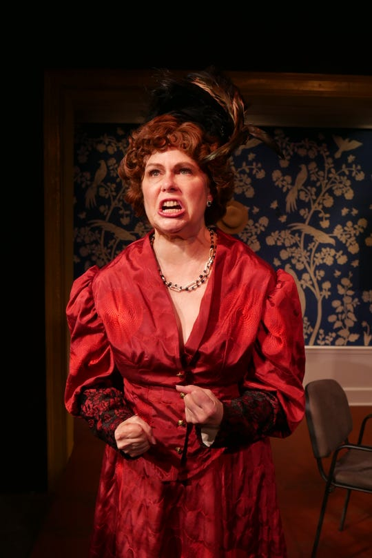 Susan Pertalion as Mrs. Kitty Warren