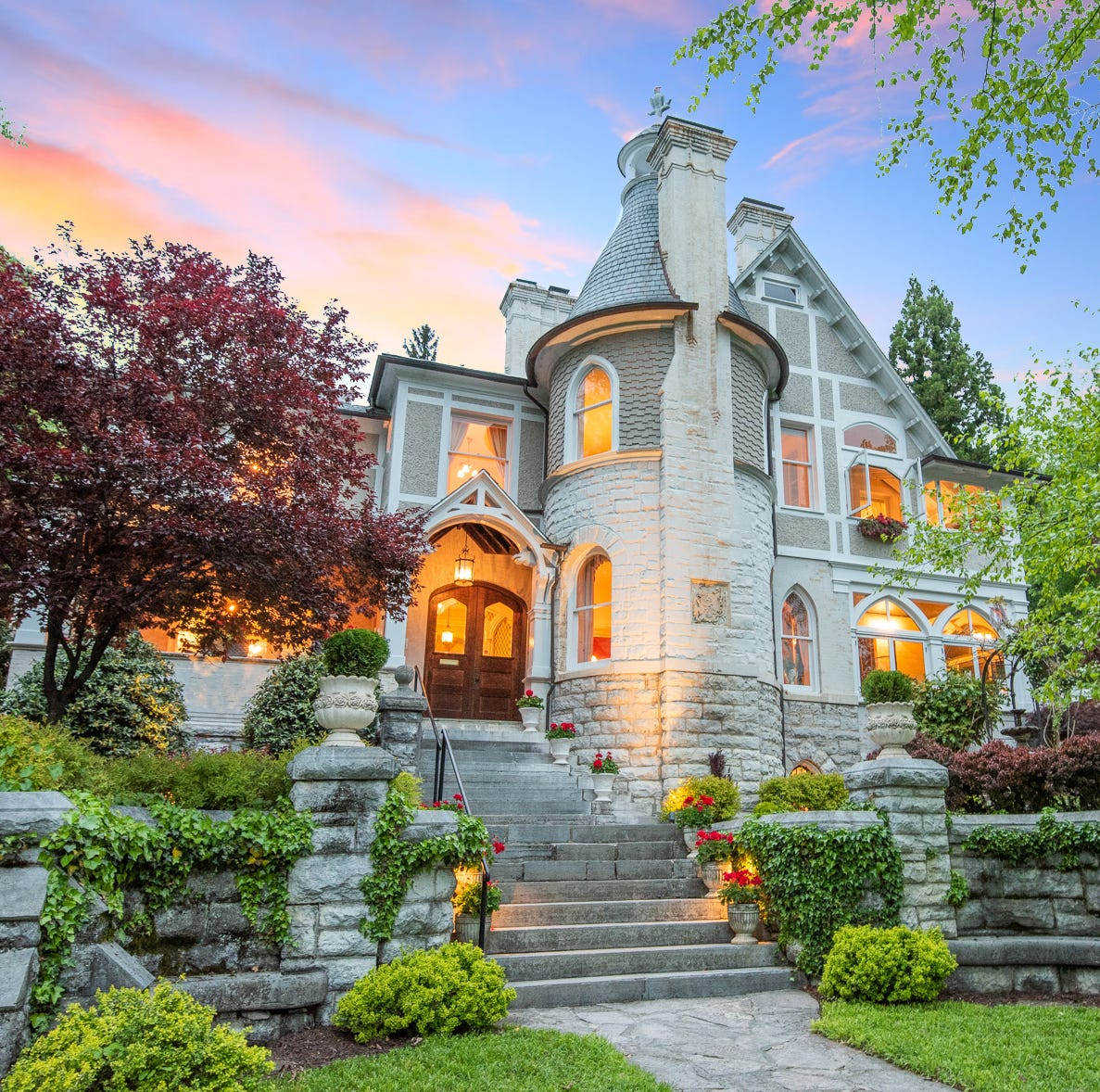 Staunton historic Queen Anne Victorian is castle-like and costs over $1 million — On the market