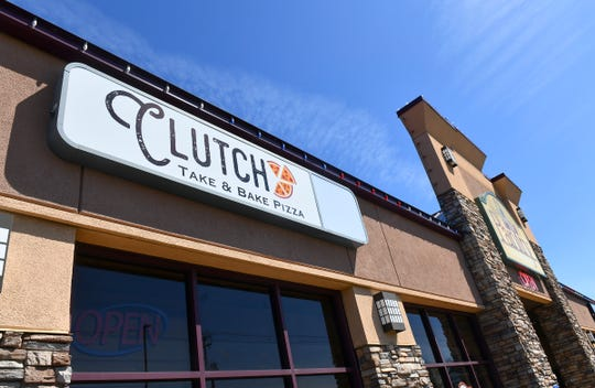 Clutch Take & Bake Pizza is pictured Tuesday, May 7, in Sartell.
