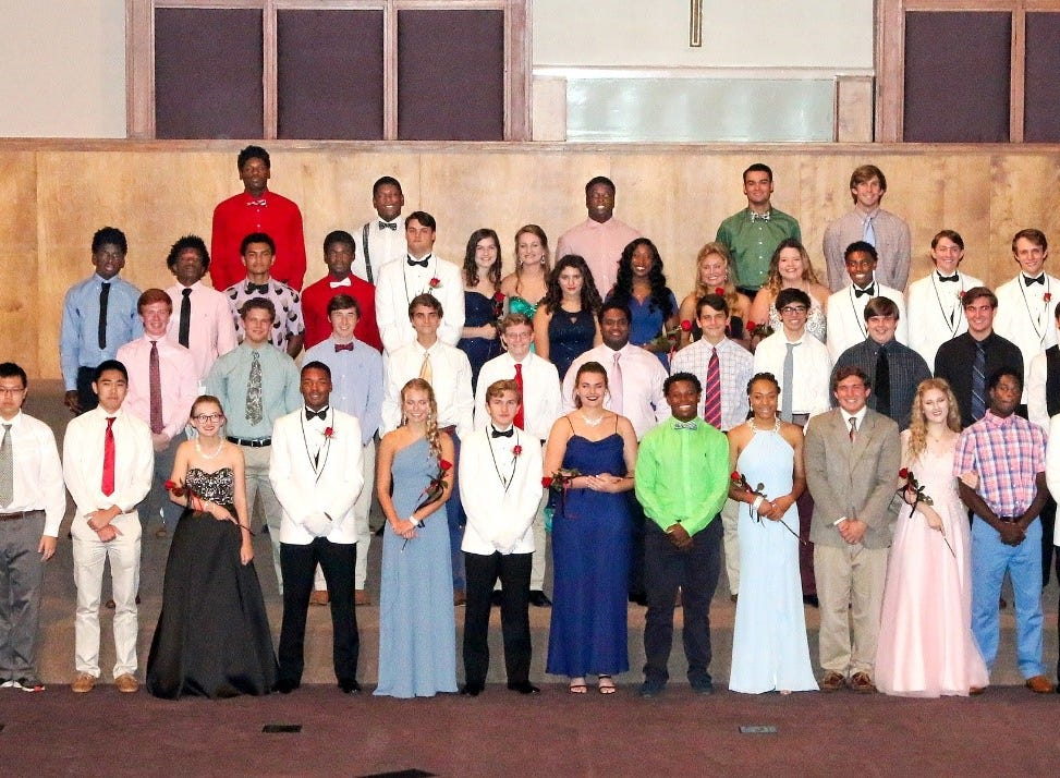 Class of 2019 at North Florida Christian School.