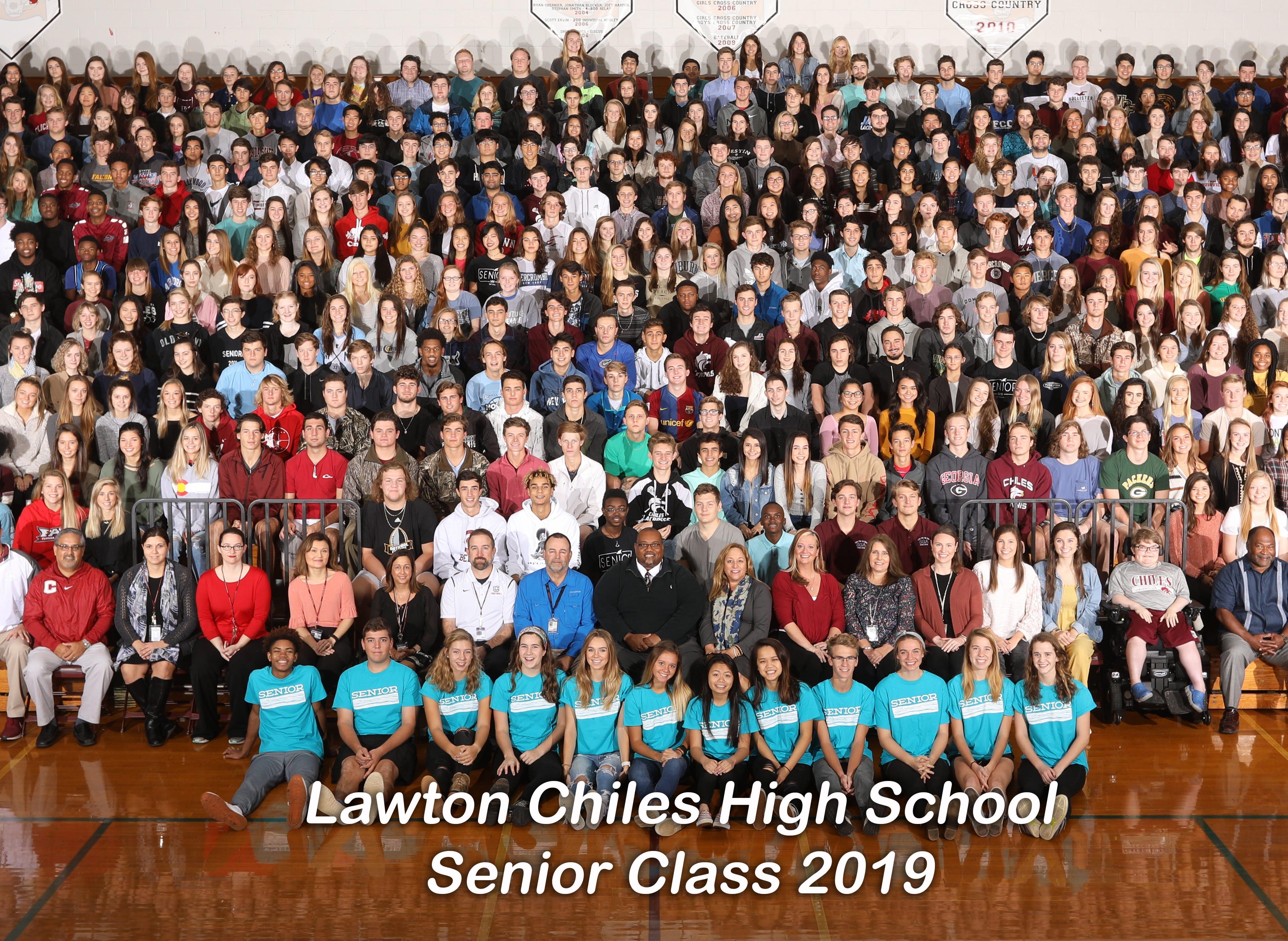 Senior Class of 2019 at Lawton Chiles High School Class.