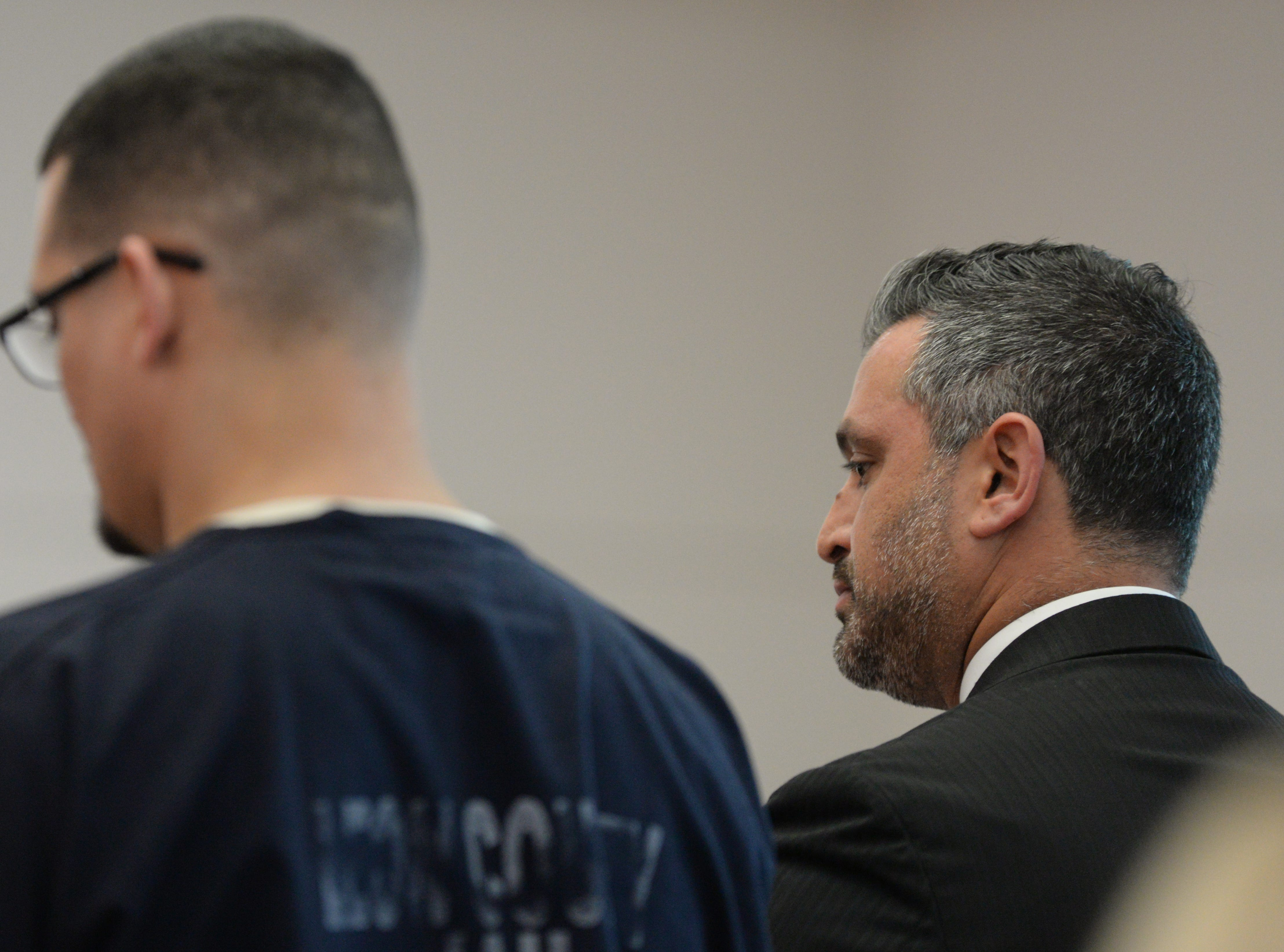 Saam Zengeneh, attorney for Sigfredo Garcia, one of two suspects set to stand trial next month in the murder of Dan Markel, asks Leon County Circuit Judge James C. Hankinson for a continuance in Garcia's trial at the Leon County Courthouse Tuesday, May 7, 2019. The request was denied.
