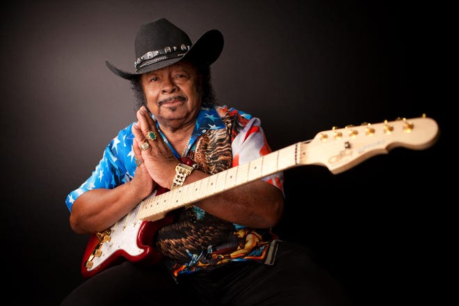 Legendary blues guitarist Guitar Shorty will play a free concert at 6:30 p.m. Thursday, Sept. 2, at Sparky's Burgers and BBQ restaurant in Hatch.