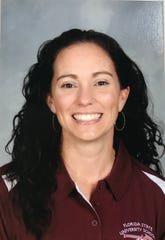 Megan Crombie, math teacher at Florida State University Schools