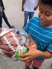 Elev8Hope volunteers went out into the community with 1,000 baskets to bring Easter joy to Martin County residents.
