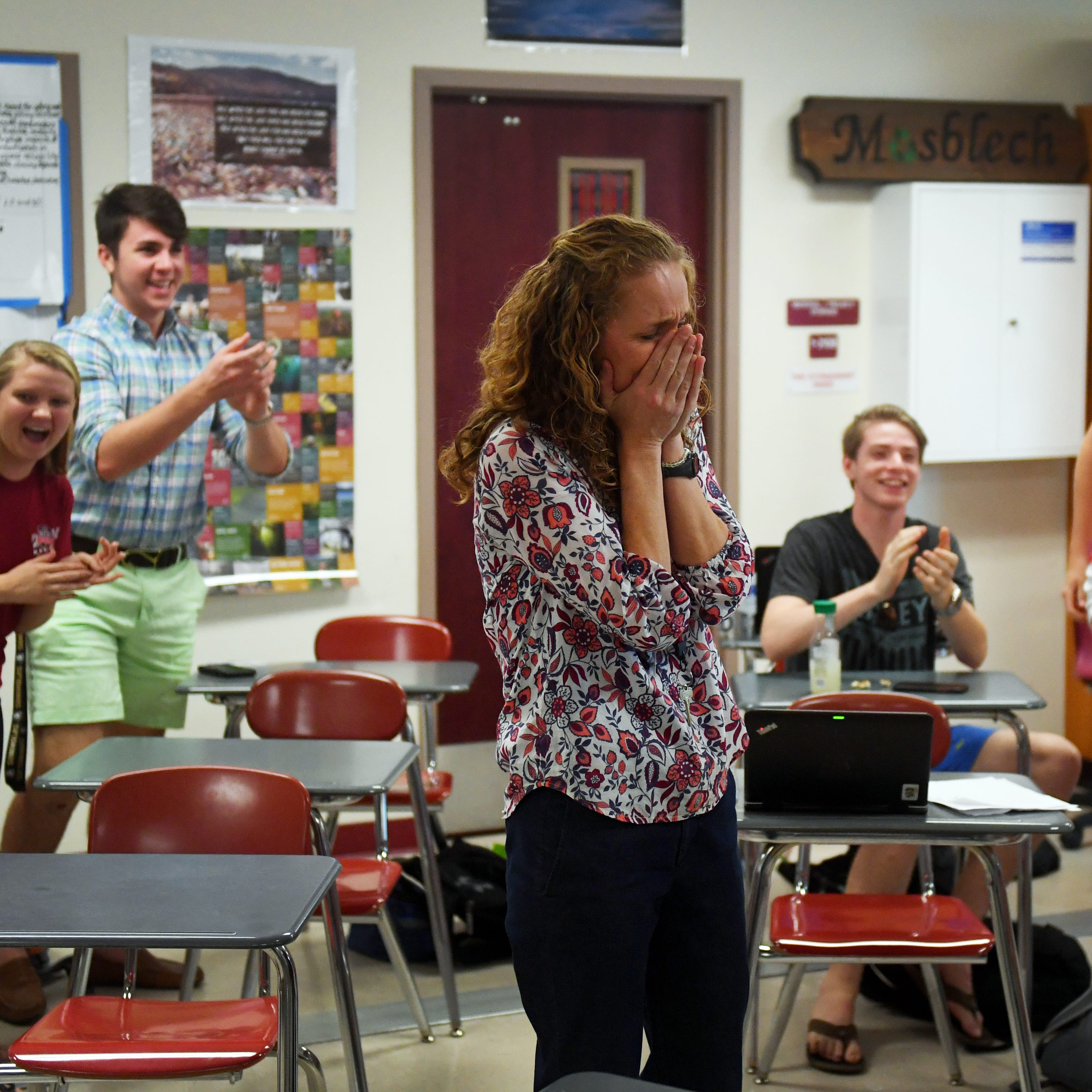 Vero Beach High School science teacher named finalist for state teacher of the year