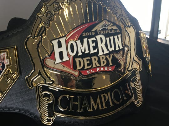 The winner of the Triple-A All-Star Game Home Run Derby will win this belt.
