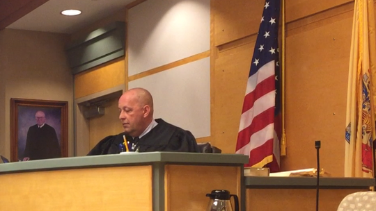 Cumberland County Superior Court Judge Robert Malestein will rule in June whether Millville police Officer Jeffrey E. Profitt was properly indicted.