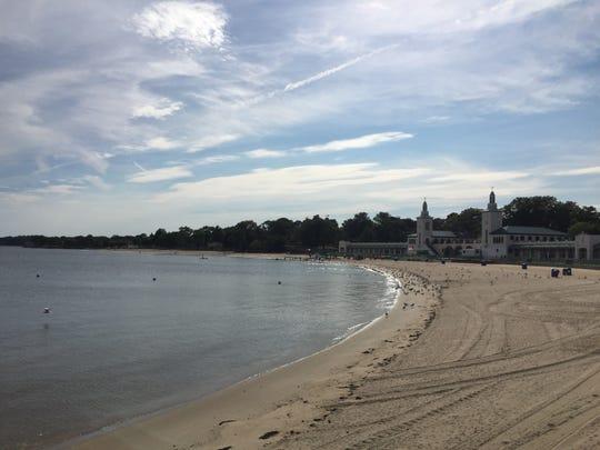 Playland beach.