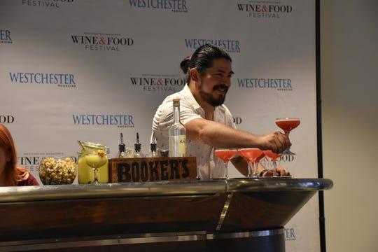 Emilio Ugarte of RiverMarket Bar & Kitchen in Tarrytown was last year's  winner in the Bartender Shake-Off.