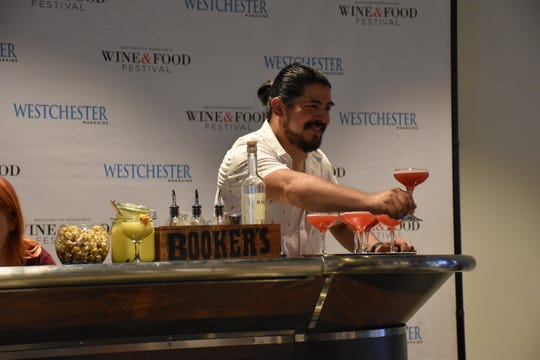 Emilio Ugarte of RiverMarket Bar & Kitchen in Tarrytown was last year's  winner in the Bartender Shake-Off.