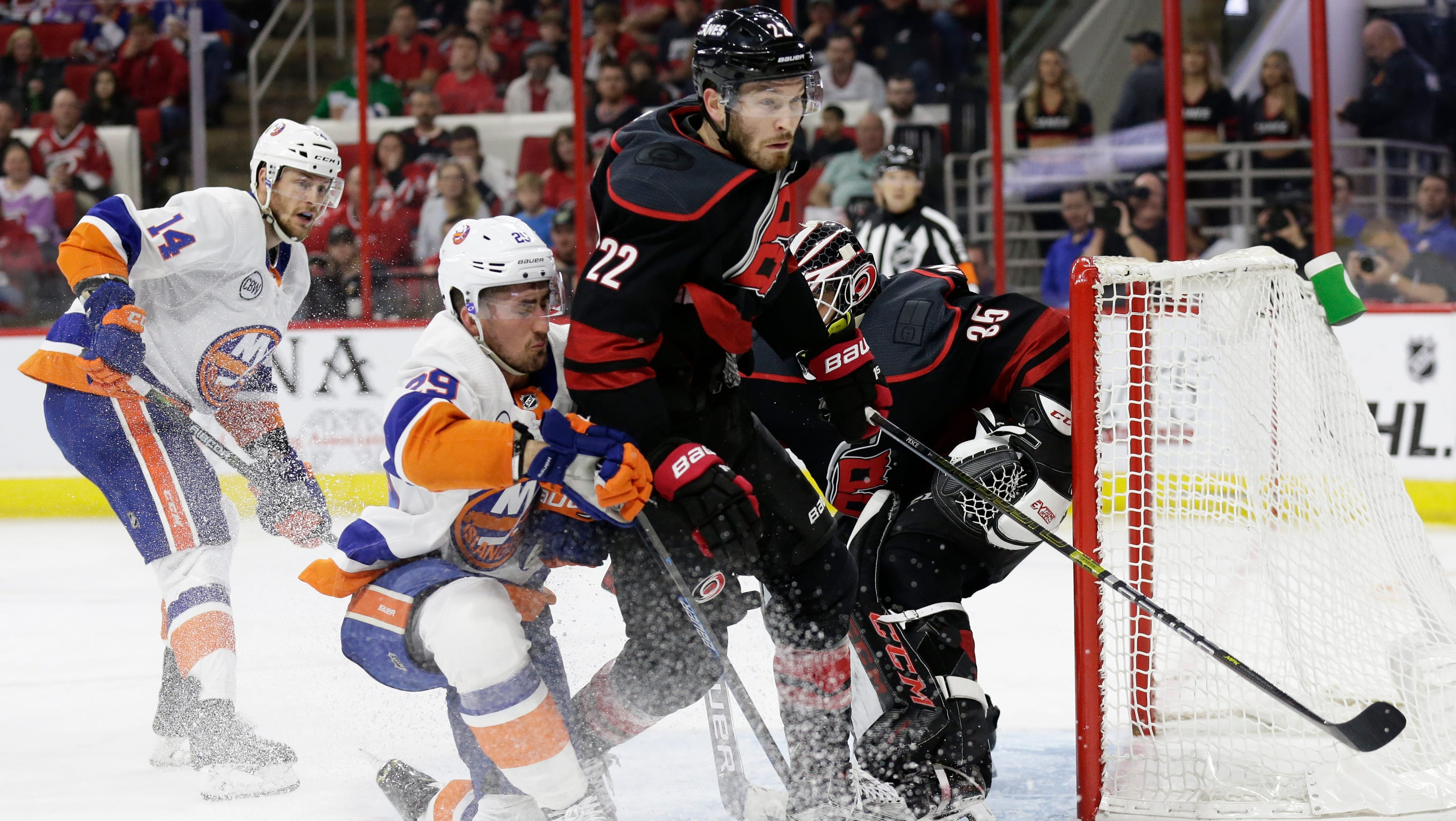 new arrival 9a61a 131db Hockey: Brett Pesce, Irvington native, playing well in NHL ...