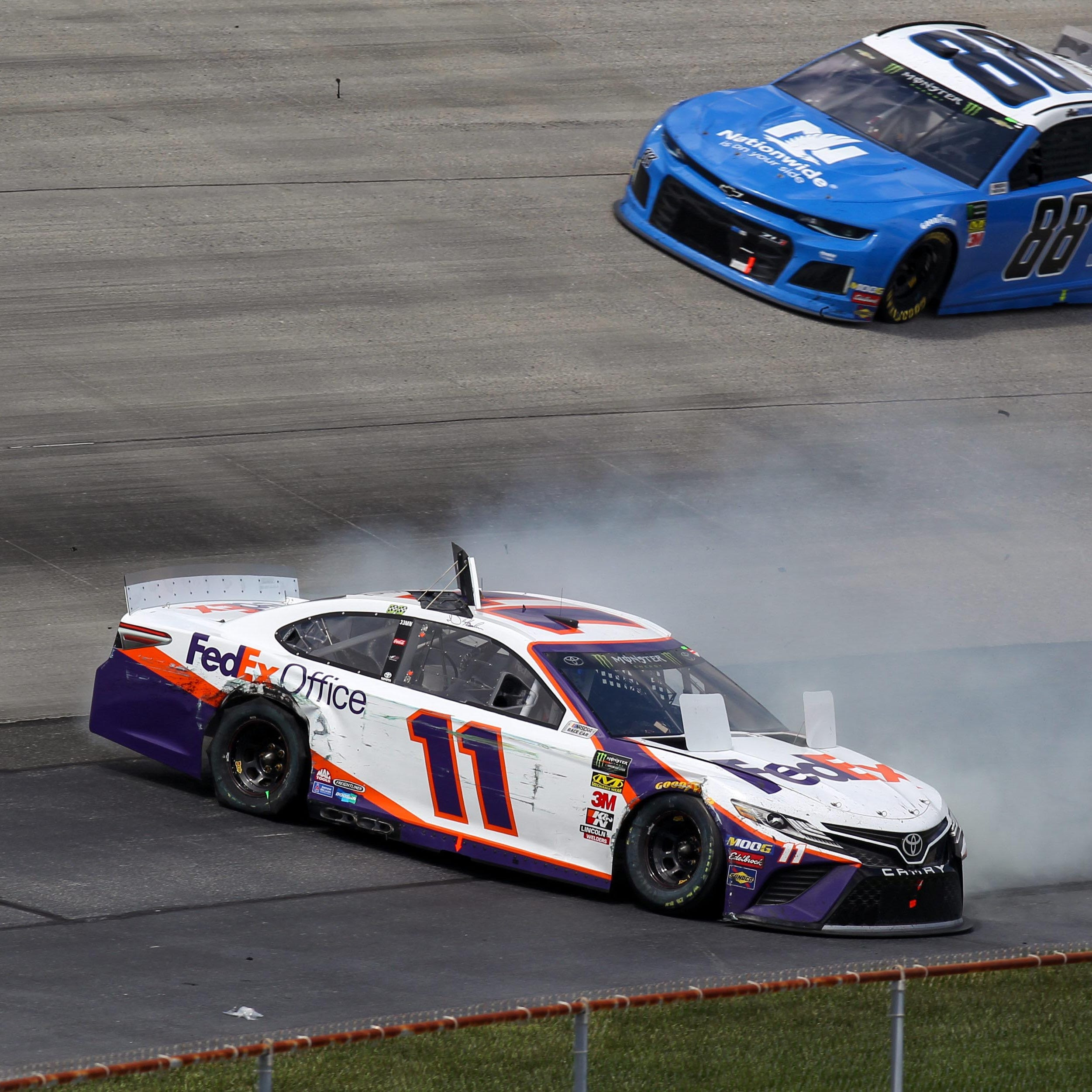 NASCAR driver suffered carbon monoxide poisoning at Dover