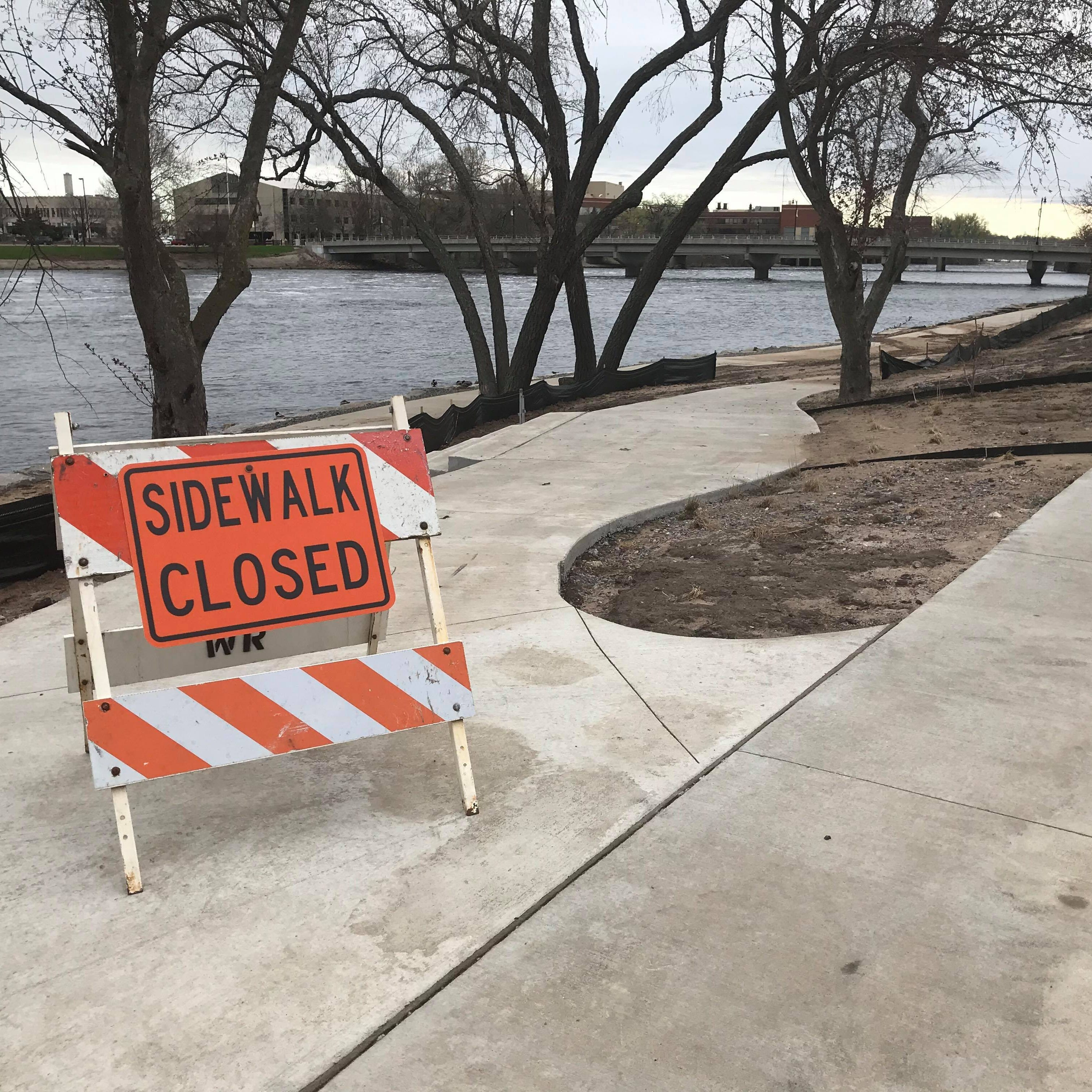 Flood waters leave minor damage at renovated riverfront parks in Wisconsin Rapids