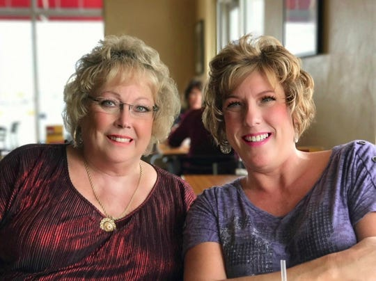 Stacy Wetzel and her mother