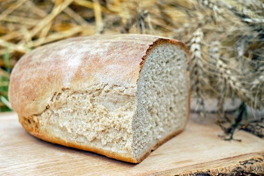 Farmers earn 13 cents from a 2 pound loaf of bread that retails for $3.99.