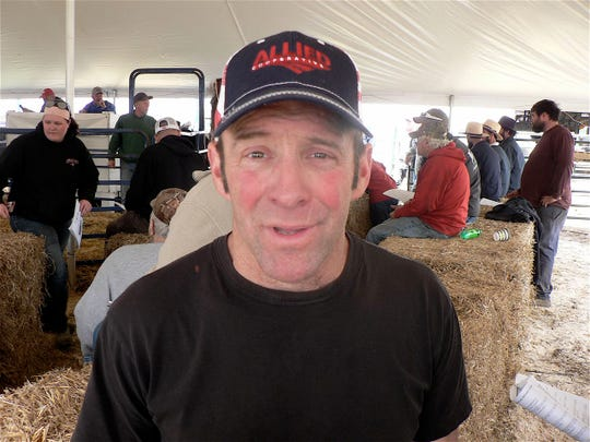 Greg Lohr, Prairie du Sac bought four cows for his year old robot barn.