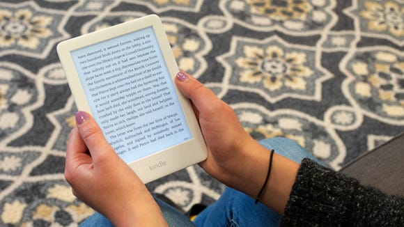 Instead of giving Mom a book she probably won't read, let her read her favorites on her new Kindle.