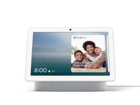 Nest Hub Max can make and receive video calls.