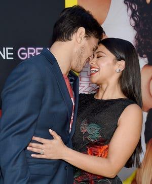 Happy couple Gina Rodriguez and Joe LoCicero got married on Saturday,