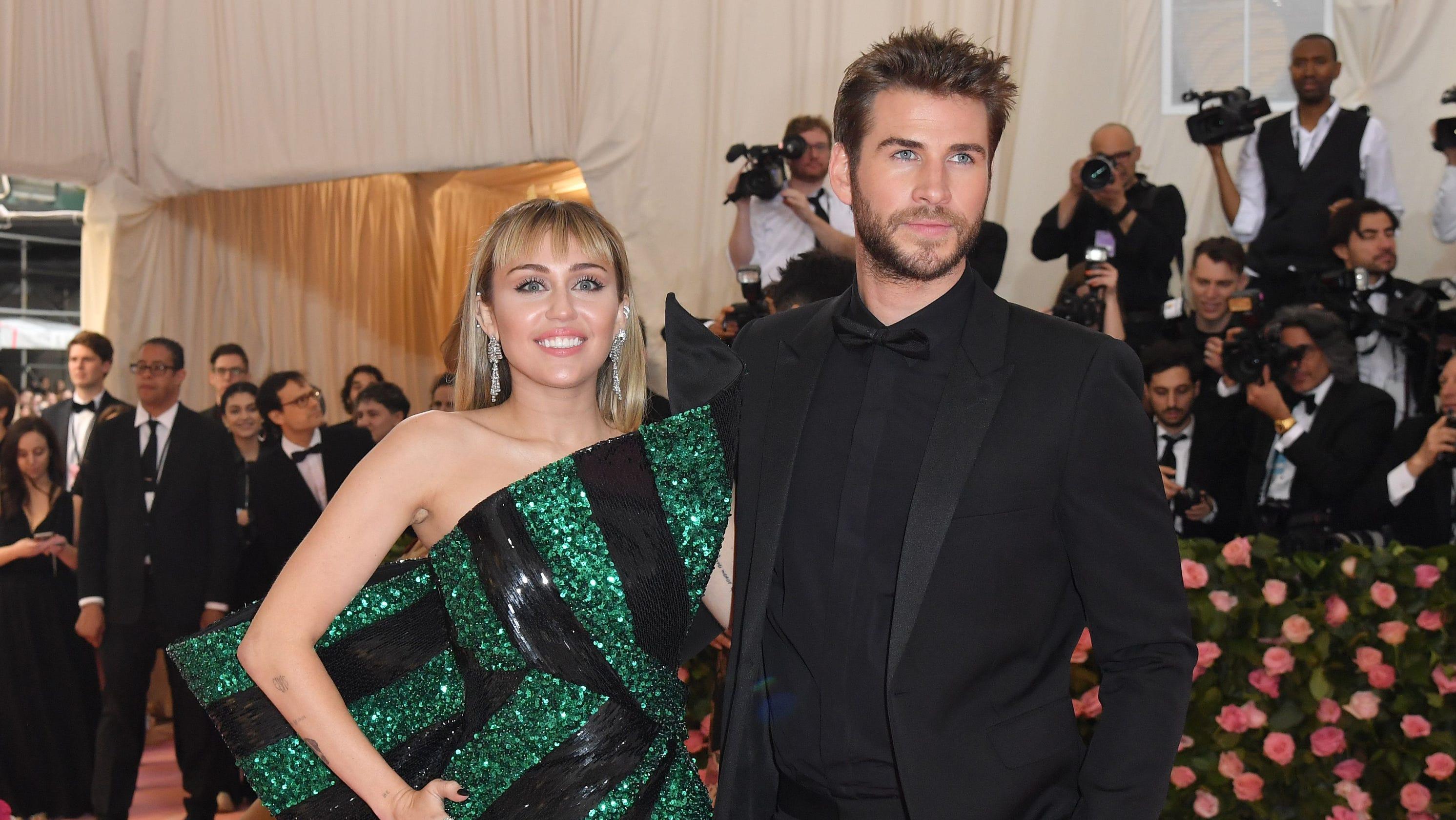Miley Cyrus slams Liam Hemsworth breakup rumors in anniversary post