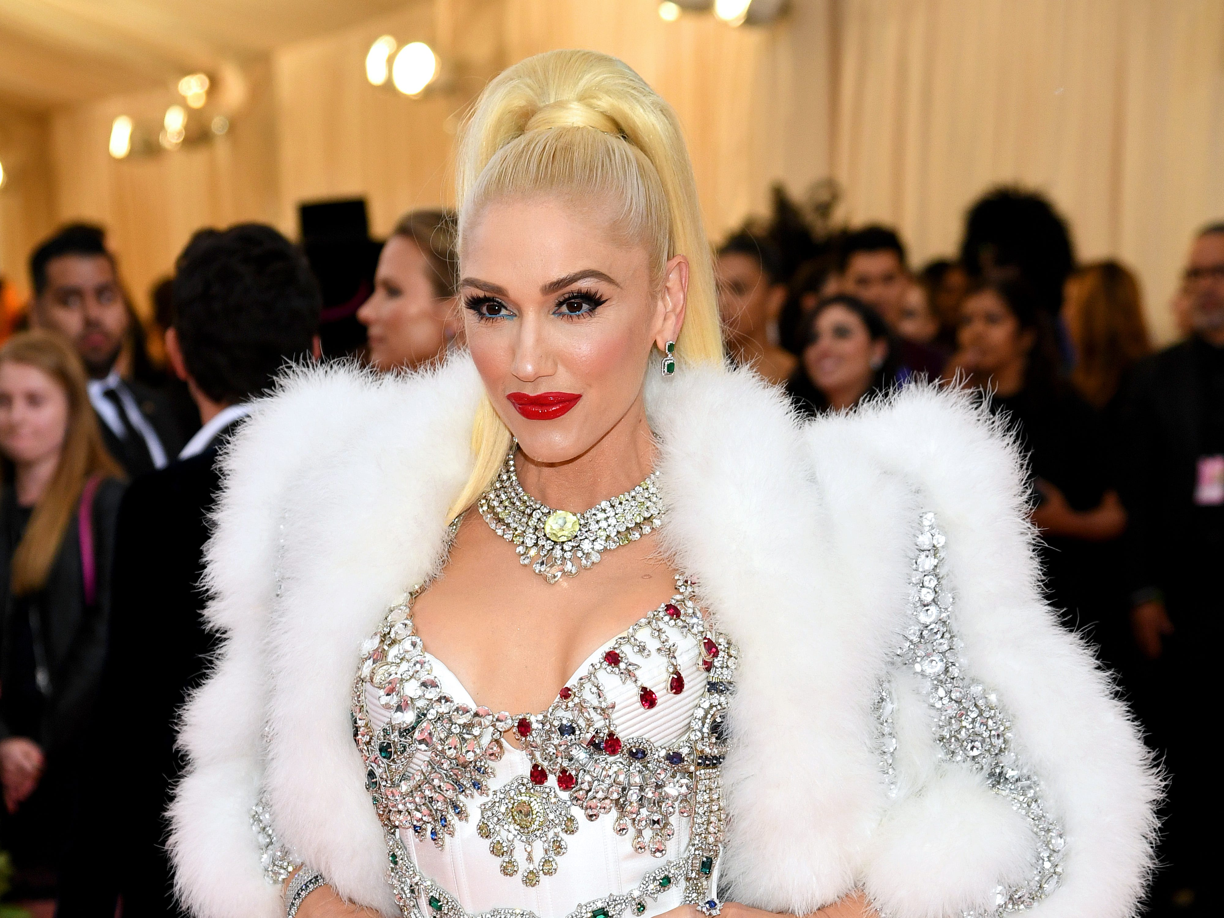 NEW YORK, NEW YORK - MAY 06: Gwen Stefani attends The 2019 Met Gala Celebrating Camp: Notes on Fashion at Metropolitan Museum of Art on May 06, 2019 in New York City. (Photo by Dimitrios Kambouris/Getty Images for The Met Museum/Vogue) ORG XMIT: 775333959 ORIG FILE ID: 1147426927