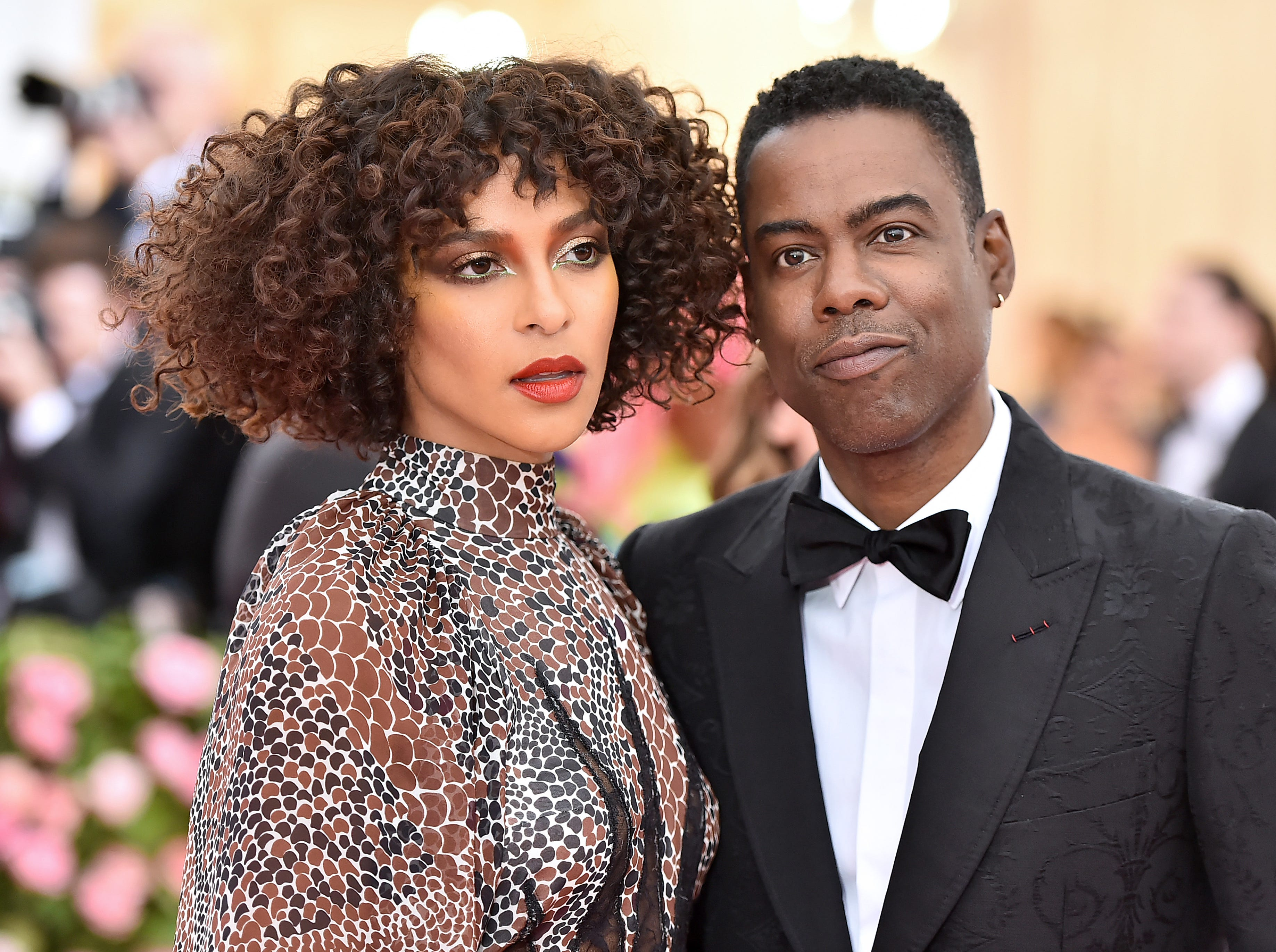 NEW YORK, NEW YORK - MAY 06: Megalyn Echikunwoke and Chris Rock attend The 2019 Met Gala Celebrating Camp: Notes on Fashion at Metropolitan Museum of Art on May 06, 2019 in New York City. (Photo by Theo Wargo/WireImage) ORG XMIT: 775333959 ORIG FILE ID: 1147424561