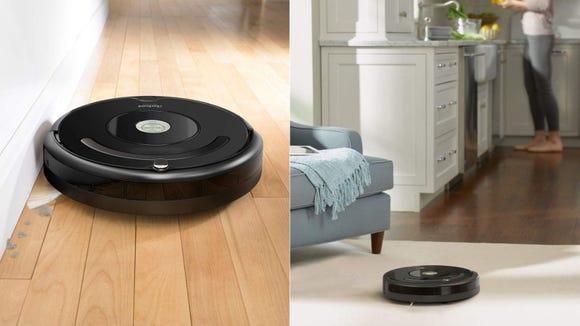 Keep floors tidy with the iRobot Roomba 671.